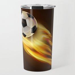 Soccer bal Travel Mug