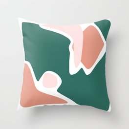 Shapes V - Part II Throw Pillow