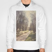 road Hoodies featuring Road ∆ by Visceral Angst