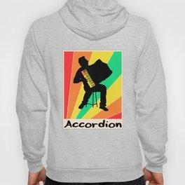 Accordion poster Piano Keyboard Hoody