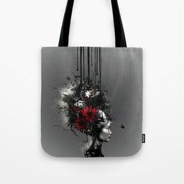 At war, looking for peace Tote Bag