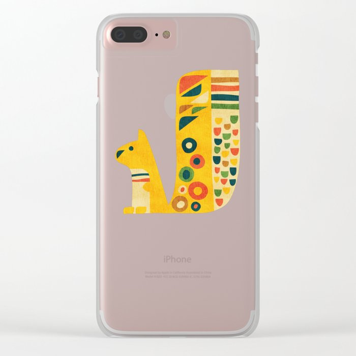 Century Squirrel Clear iPhone Case