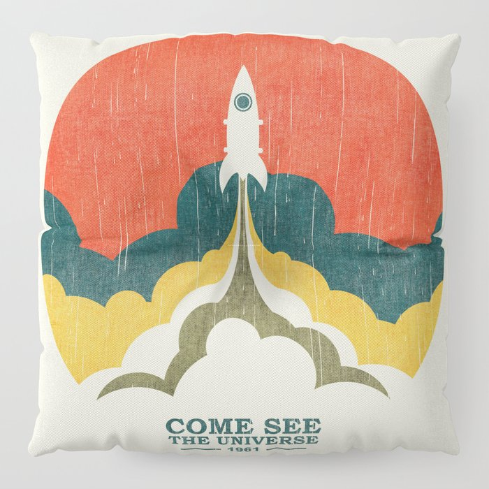Come See The Universe Floor Pillow