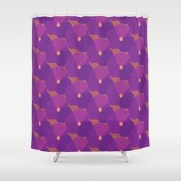 You're turning Violet, Violet Shower Curtain