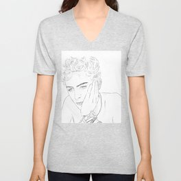 Timothee Chalamet - Elio from CMBYN Unisex V-Neck