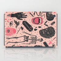 whatever iPad Cases featuring Whole Lotta Horror by Josh Ln