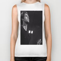 luke hemmings Biker Tanks featuring L HEMMINGS CLEVELAND by Halle