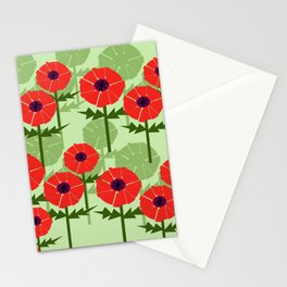 Poppies Contempo Stationery Cards