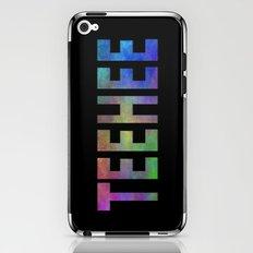 TEEHEE iPhone & iPod Skin