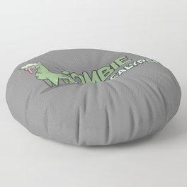 Zombie Alpacalypse Floor Pillow
