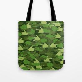 Handy Camo GREEN Tote Bag