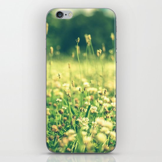 My Heart Was Wrapped in Clover (the night I looked at you) iPhone & iPod Skin