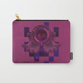 weird eye , hand , space thing ? Carry-All Pouch