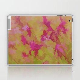 Pink Splatter Garden Laptop & iPad Skin
