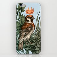 rose gold iPhone & iPod Skins featuring Rose Gold by Awreon