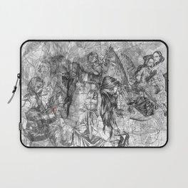 carré mystique Laptop Sleeve