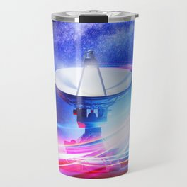 Radio Telescope: Neon light Travel Mug