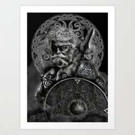 FATHER ODIN Art Print
