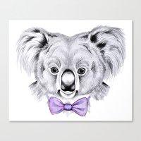 koala Canvas Prints featuring Koala by 13 Styx