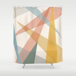 Geometrías II Shower Curtain