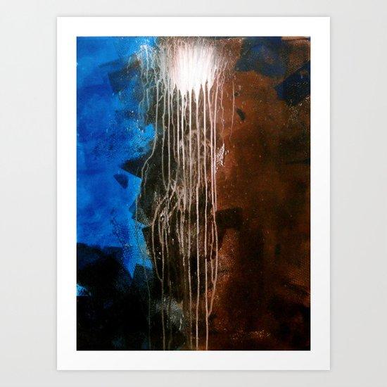 Heat Lightning Art Print