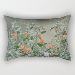 Desert Wildflower - 2 Rectangular Pillow