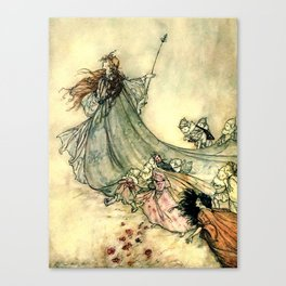 The Fairy Queen Canvas Print