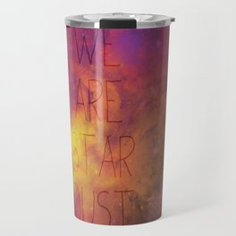 Nebula (Text) Travel Mug