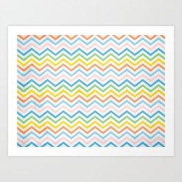 Retro 60 - Second Wave Art Print