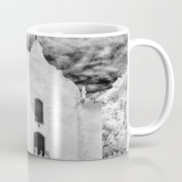 Church Black and White Coffee Mug