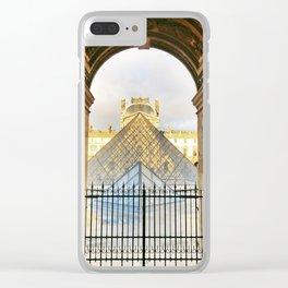 Geometrics Clear iPhone Case