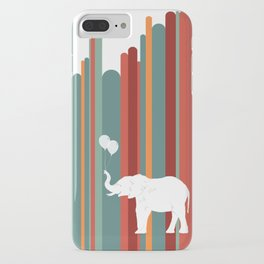 Elephants Play iPhone Case