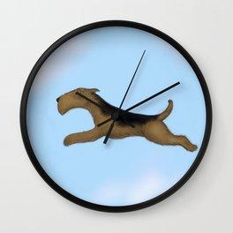 Aire-born Wall Clock