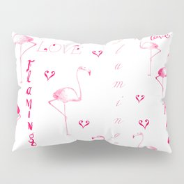 Flamingo Love Collection Pillow Sham