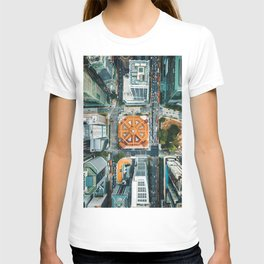 Aerial Cityscape View (Color) T-shirt