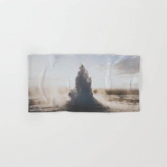Geysir, Iceland Hand & Bath Towel