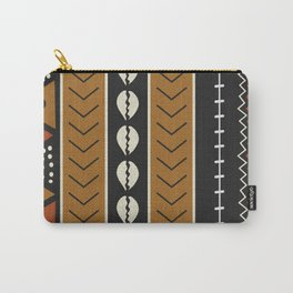 Let's play mudcloth Carry-All Pouch