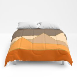 Orange Mountains #society6 #decor #buyart Comforters