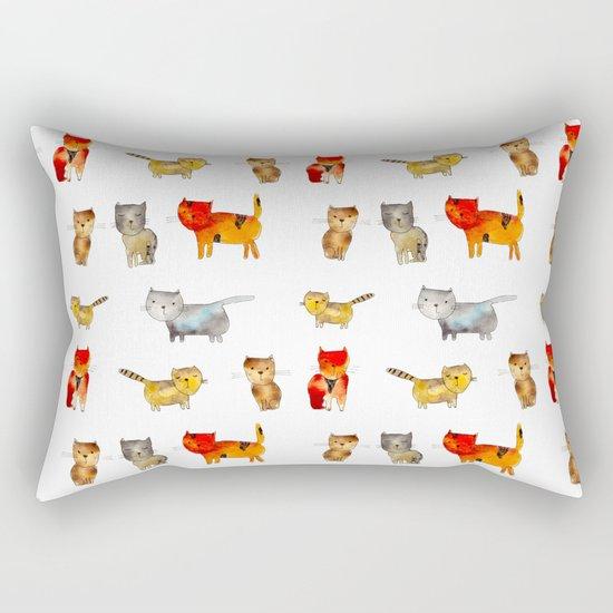 Kitties Rectangular Pillow