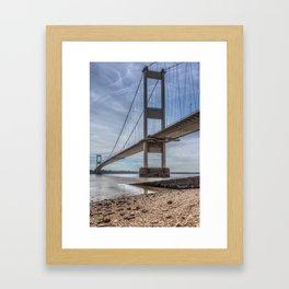 The Severn Bridge Framed Art Print
