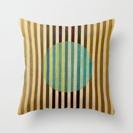 """Sentered"" Throw Pillow"