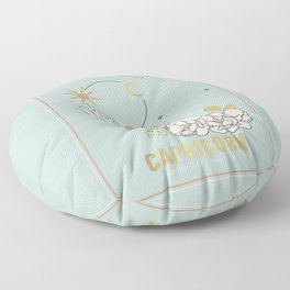 Capricorn Zodiac Series Floor Pillow