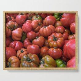 Tomato Pattern Serving Tray