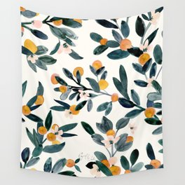 Clementine Sprigs Wall Tapestry