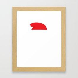 Believe Santa Claus design - Christmas product - Xmas graphic Framed Art Print