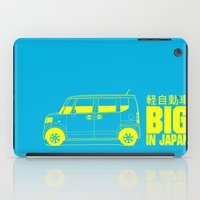 "honda iPad Cases featuring Honda N-Box ""Big in Japan""  by JoKomo"