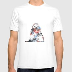 King Mens Fitted Tee White MEDIUM