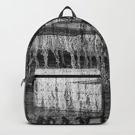 Grayscale Stains Backpack