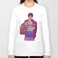 actor Long Sleeve T-shirts featuring 80/90s - RS by Mike Wrobel