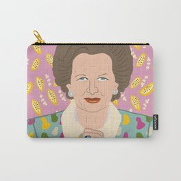 Margaret Thatcher Carry-All Pouch